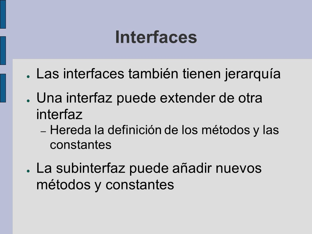 Interfaces ejemplo