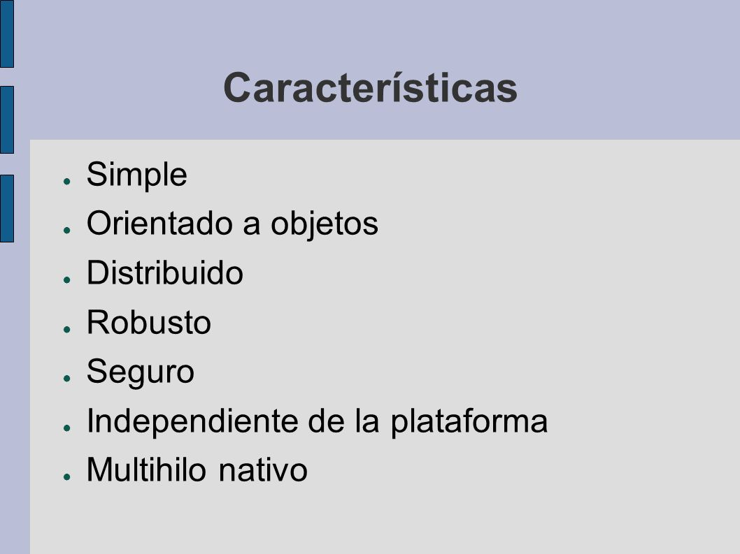 Variables public class Basic { public static void main(String[] args) { int sum = 0; for (int current = 1; current <= 10; current++) { sum += current; } System.out.println( Sum = + sum); } Basic ¿Cúal es.