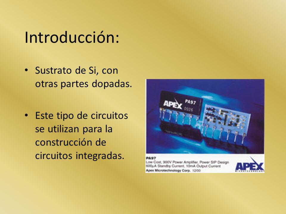 Amplificadores MOSFET Características: Su estructura es mas simple y por lo tanto su costo de fabrica mas reducido.