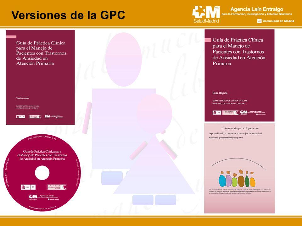 Versiones de la GPC