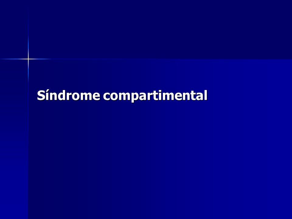 Síndrome compartimental