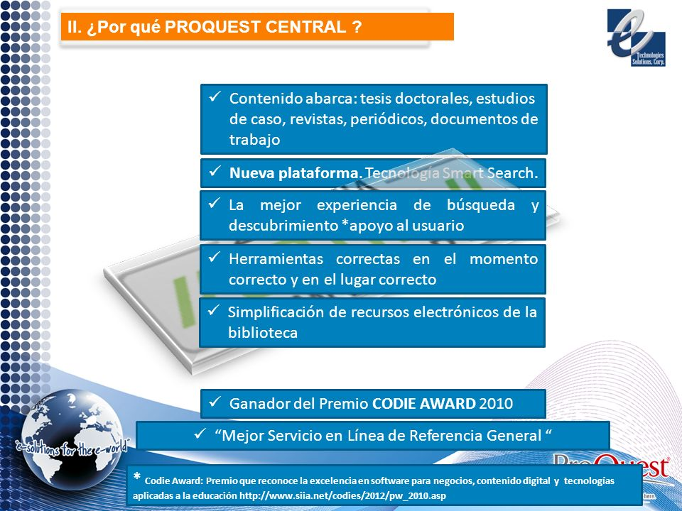 Contenido abarca: tesis doctorales, estudios de caso, revistas, periódicos, documentos de trabajo Nueva plataforma.