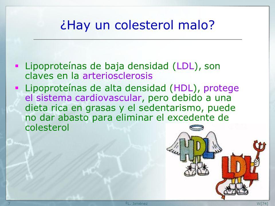 W[74] © L.Jiménez8 ¿Qué es la arteriosclerosis.