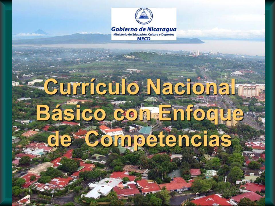 Currículo Nacional Básico con Enfoque de Competencias