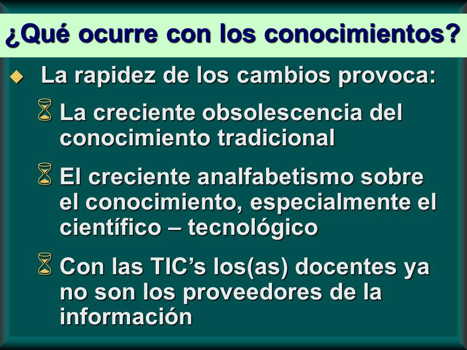 El concepto de competencia, en educación, resulta de las nuevas teorías de cognición y básicamente significa saberes de ejecución.