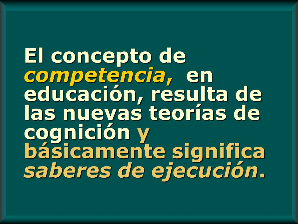 Flexibilidad Curricular Forma de organizar las Competencias.