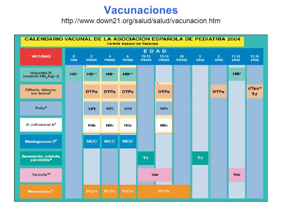 Vacunaciones http://www.down21.org/salud/salud/vacunacion.htm