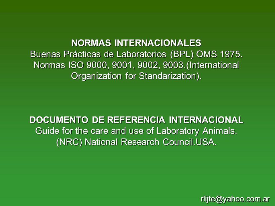 PRINCIPIOS PARA EL TRABAJO CON ANIMALES (W.M. Russell y R.
