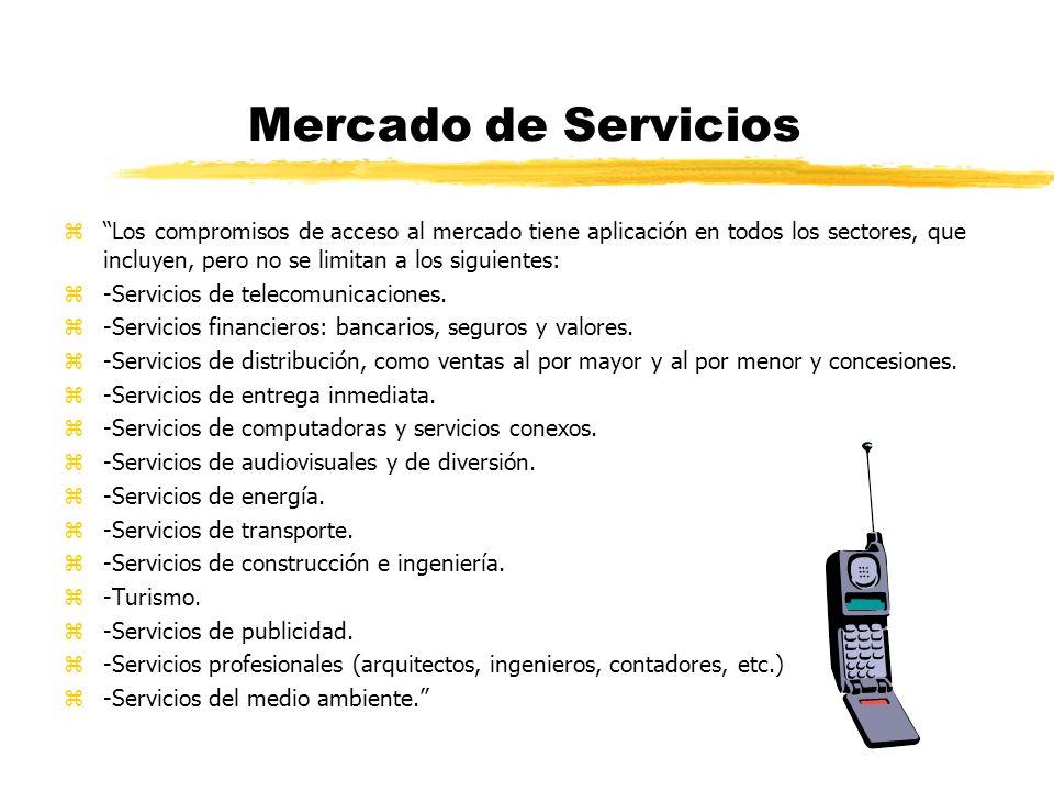 Mercado de Servicios zMercados abiertos para los servicios en toda la región.