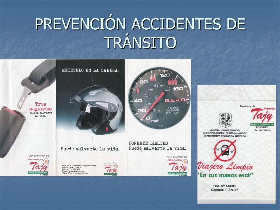 15 PREVENCIÓN ACCIDENTES DE TRÁNSITO