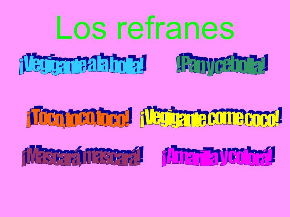 Los refranes