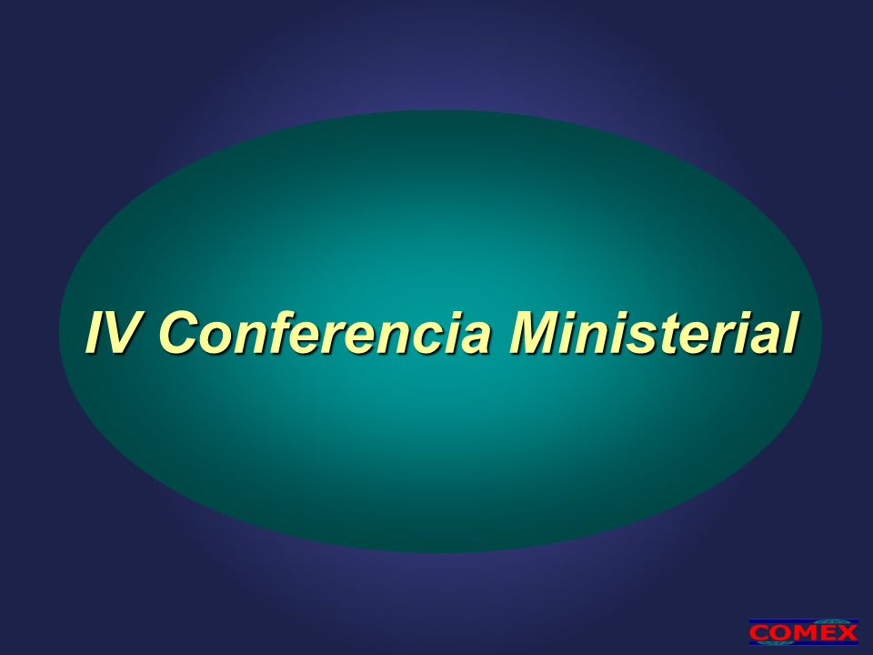 IV Conferencia Ministerial