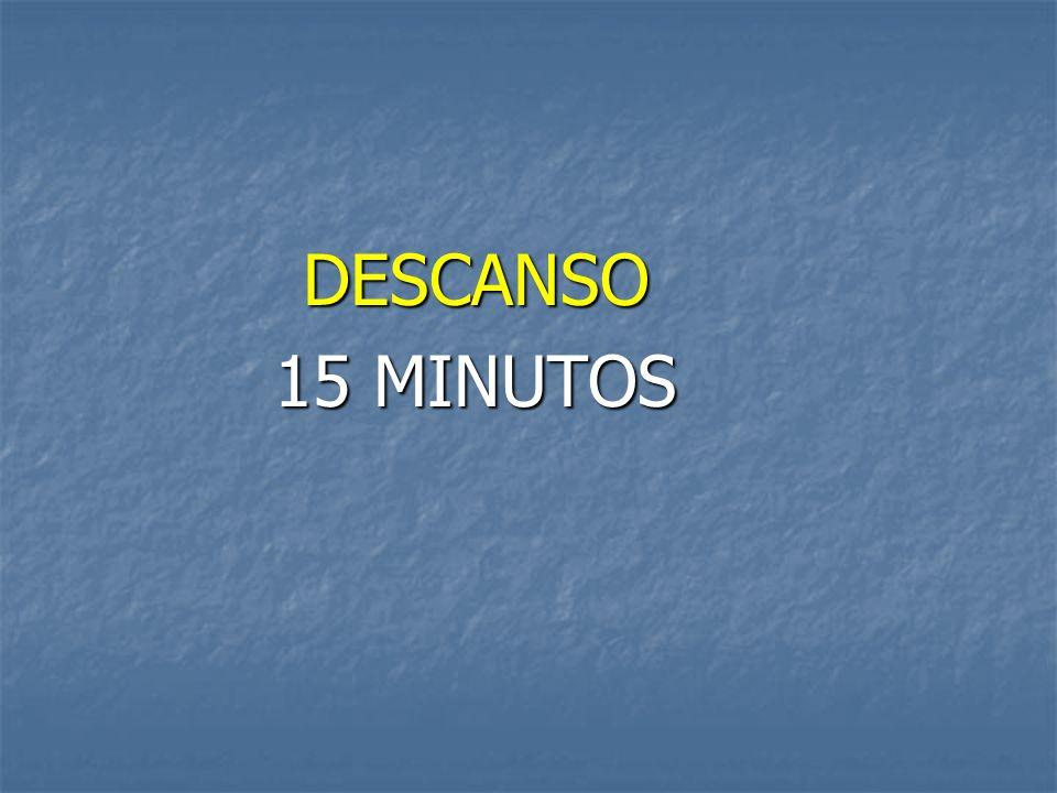 DESCANSO 15 MINUTOS