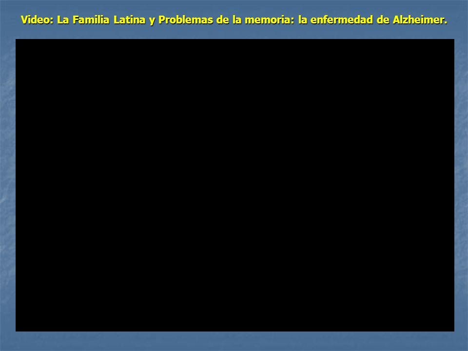 Video: La Familia Latina y Problemas de la memoria: la enfermedad de Alzheimer.
