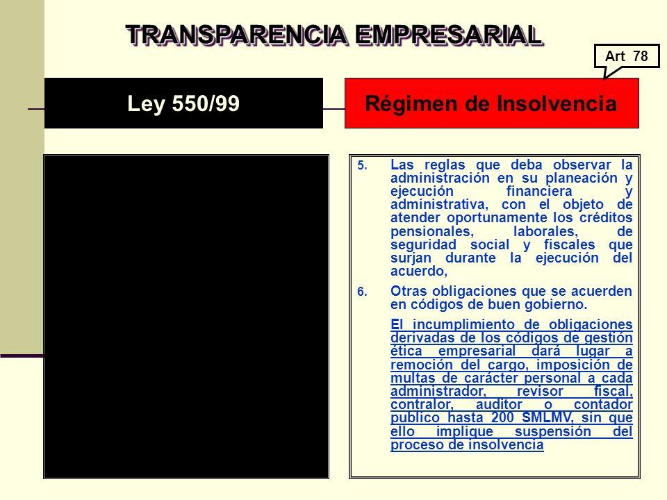 TRANSPARENCIA EMPRESARIAL 5.
