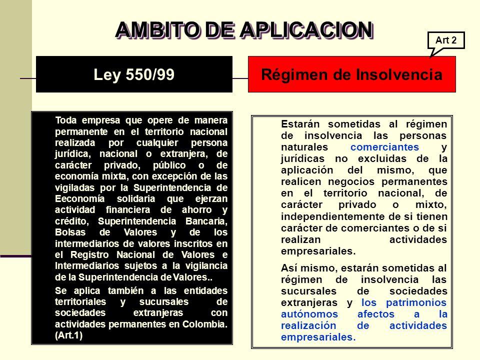 Publicidad a los acreedores en el extranjero con arreglo a las normas colombianas relativas a la insolvencia.