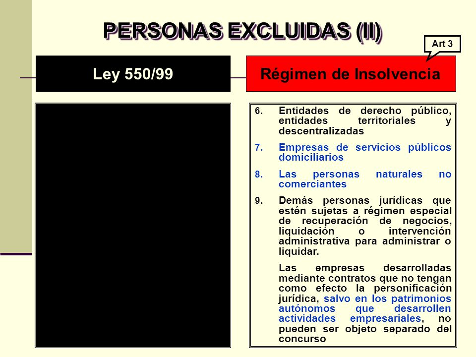 REGLAS PARA LA ADJUDICACION REGLAS PARA LA ADJUDICACION La ley 222 no contempla la subasta privada.
