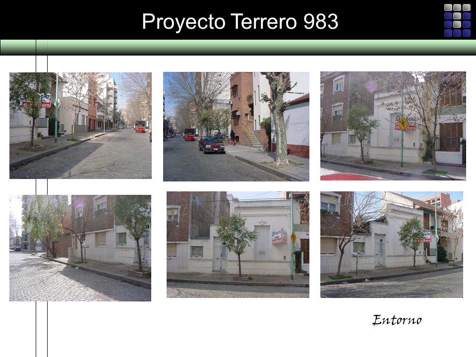 Proyecto Terrero 983 Entorno