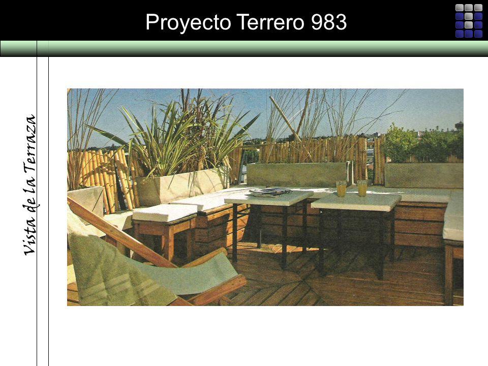 Proyecto Terrero 983 Vista de la Terraza
