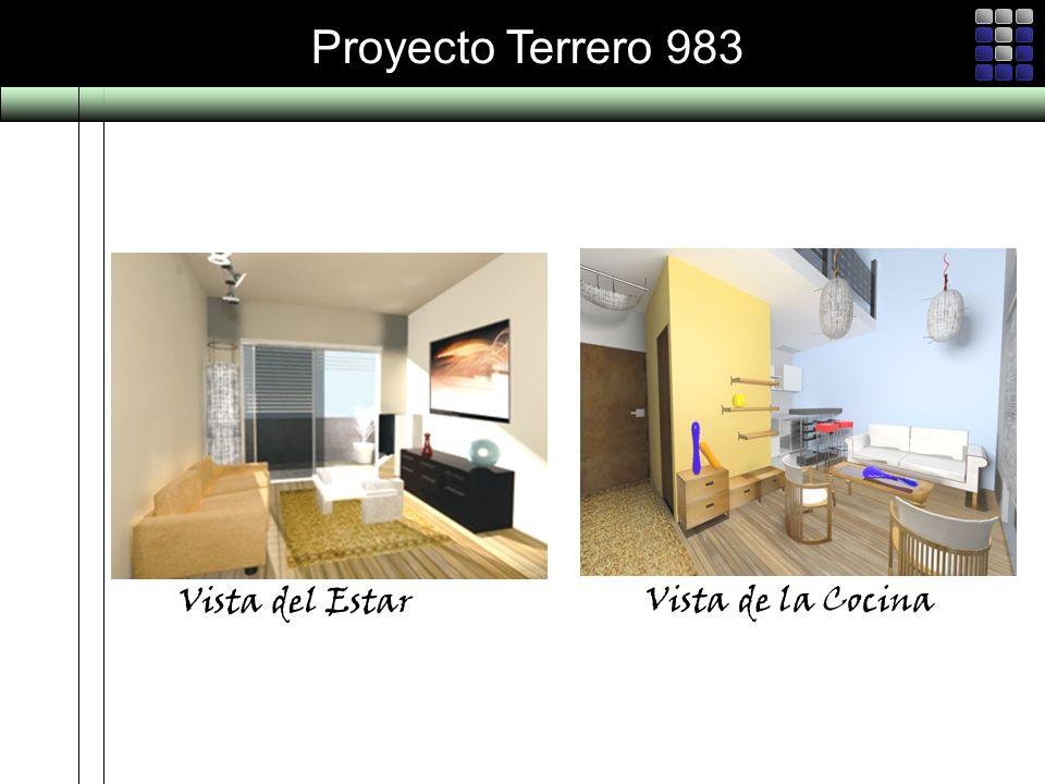 Proyecto Terrero 983 Vista del Estar Vista de la Cocina