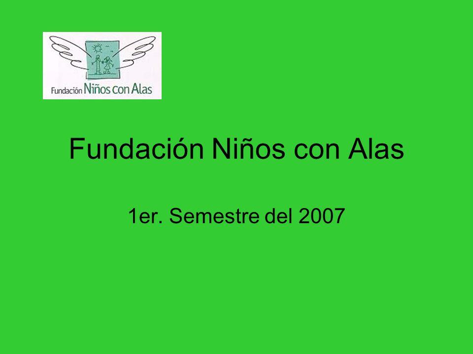Fundación Niños con Alas 1er. Semestre del 2007