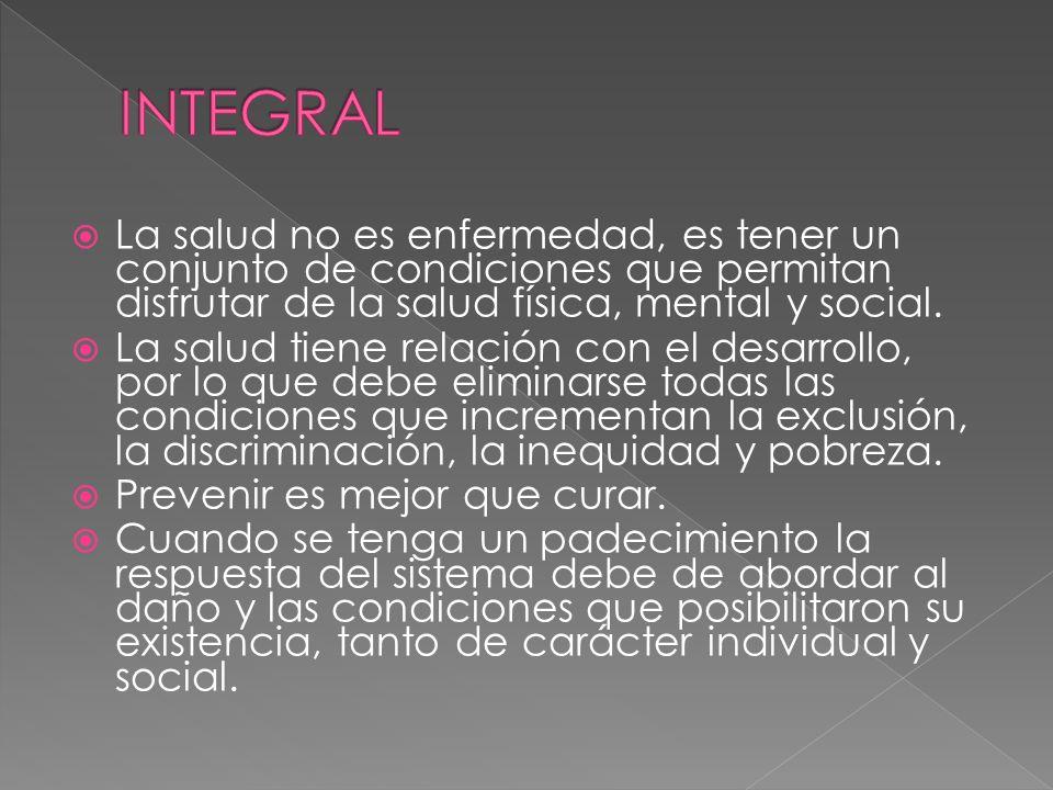 Responder a las situaciones de emergencia, ningún peruano debe morir por ser excluido de los servicios de salud.