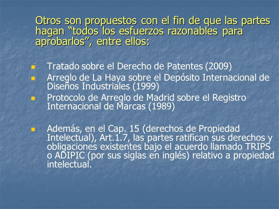TLC y Agenda Nacional de Desarrollo Al aceptar CR la legislación de referencia de EE.