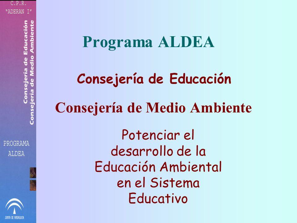 PROGRAMAS DE EDUCACIÓN AMBIENTAL RED DE ECOESCUELAS DE ANDALUCÍA C.P.R. ADERAN I Cabezas Rubias – Montes S. Benito – Villanueva de las Cruces (Huelva)
