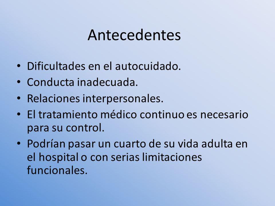 Para el análisis de los datos referentes a la adherencia se usó la estadística descriptiva.