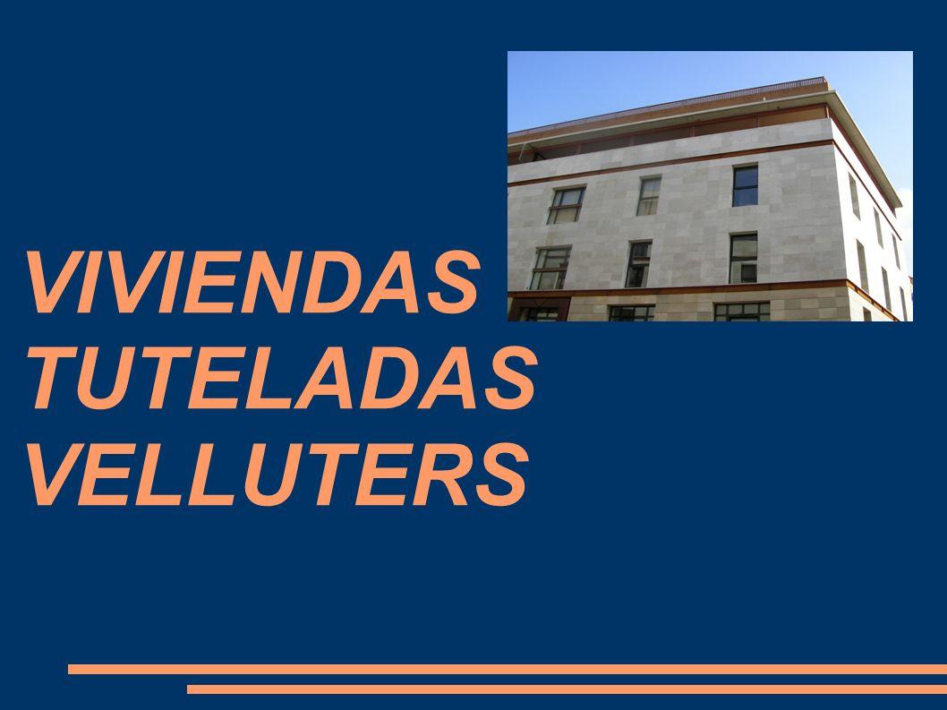 VIVIENDAS TUTELADAS VELLUTERS