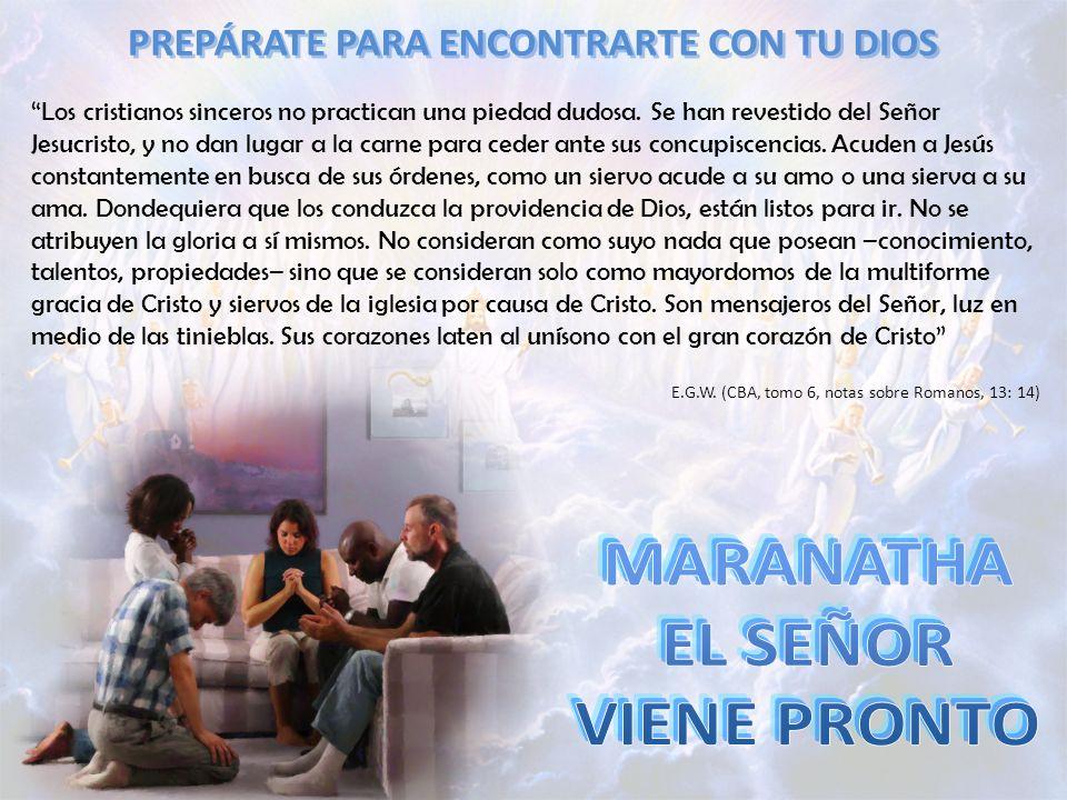 Los cristianos sinceros no practican una piedad dudosa. Se han revestido del Señor Jesucristo, y no dan lugar a la carne para ceder ante sus concupisc