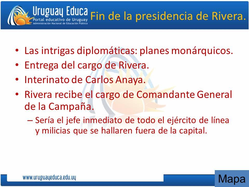 Desarrollo La segunda etapa, de 1842 a 1851 se produce en el territorio uruguayo.