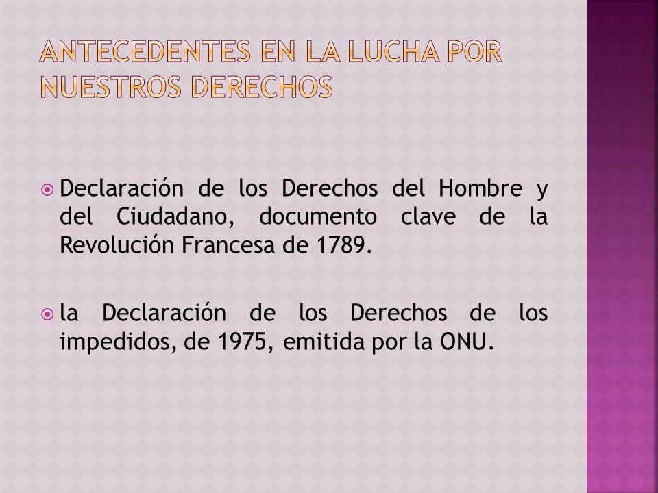 Declaración de los Derechos del Hombre y del Ciudadano, documento clave de la Revolución Francesa de 1789.