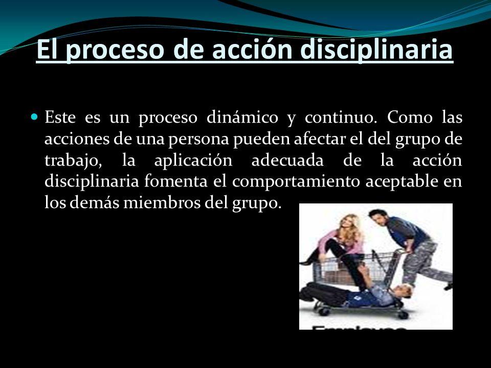 Tres Conceptos de Acción Disciplinaria Regla de la estufa quemada Este consiste en diferentes consecuencias Quema inmediata Advierte Proporciona un castigo congruente Quema de manera impersonal