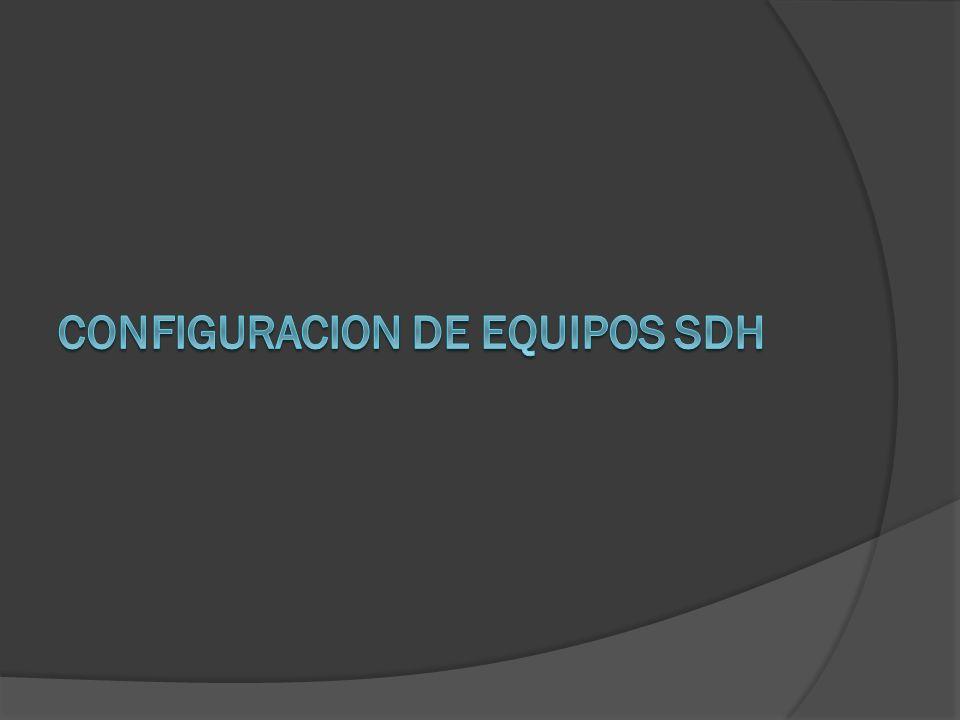 SDH (Syncronous Digital Hierachy) es un estándar internacional para sistemas ópticos de telecomunicaciones de altas prestaciones.