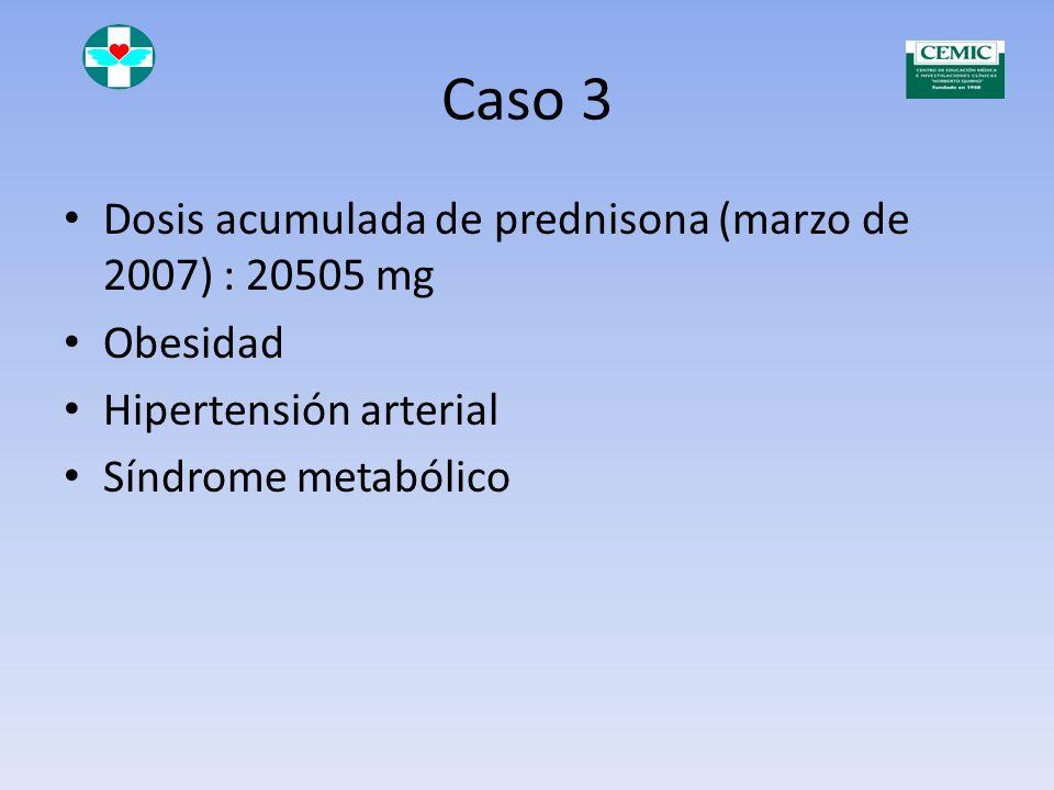 Caso 3 Febrero de 2007 Rash malar Enantema Persiste proteinuria +++ Anti DNA Nativo 1/160 Hipocomplementemia Anti SSA positivo