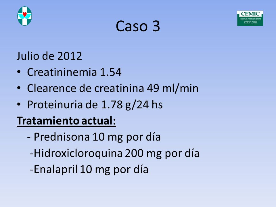 Caso 3 Dosis acumulada de prednisona (marzo de 2007) : 20505 mg Obesidad Hipertensión arterial Síndrome metabólico