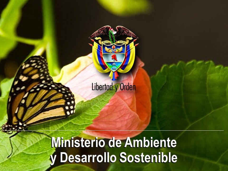 Ministerio de Ambiente y Desarrollo Sostenible Ministerio de Ambiente y Desarrollo Sostenible
