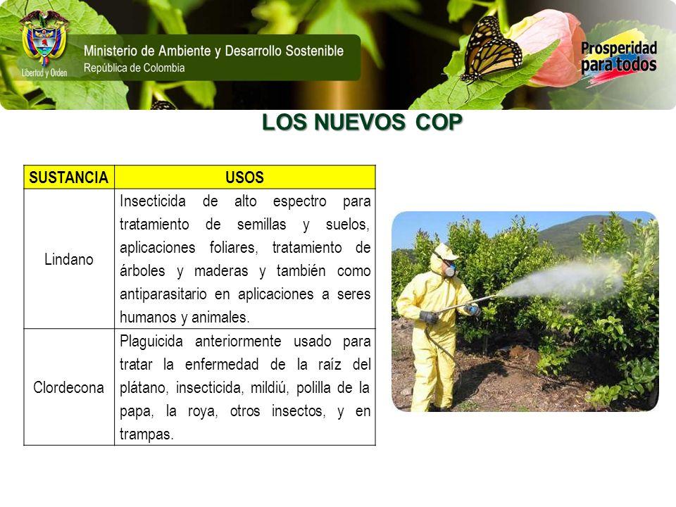 SUSTANCIAUSOS Lindano Insecticida de alto espectro para tratamiento de semillas y suelos, aplicaciones foliares, tratamiento de árboles y maderas y ta