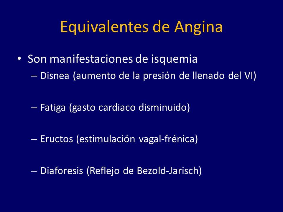 Clasificaciones Inestable vs.Estable Según la severidad de la angina: Clase I.