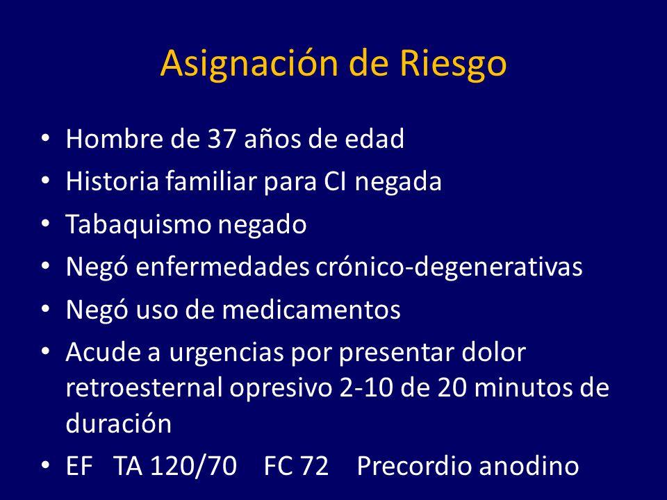 Mortalidad a 30 días 0 10 20 30 40 - 3 0 15 6.5 Desfibrilacion Monitoreo Hemodinamico -Bloqueante Aspirina Trombolisis PTCA Reperfusion Reposo domiciliario