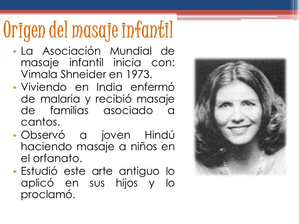 MASAJE INFANTIL M. Ed. Rocío Deliyore Instructora Certificada de Masaje Infantil por la AMMICR