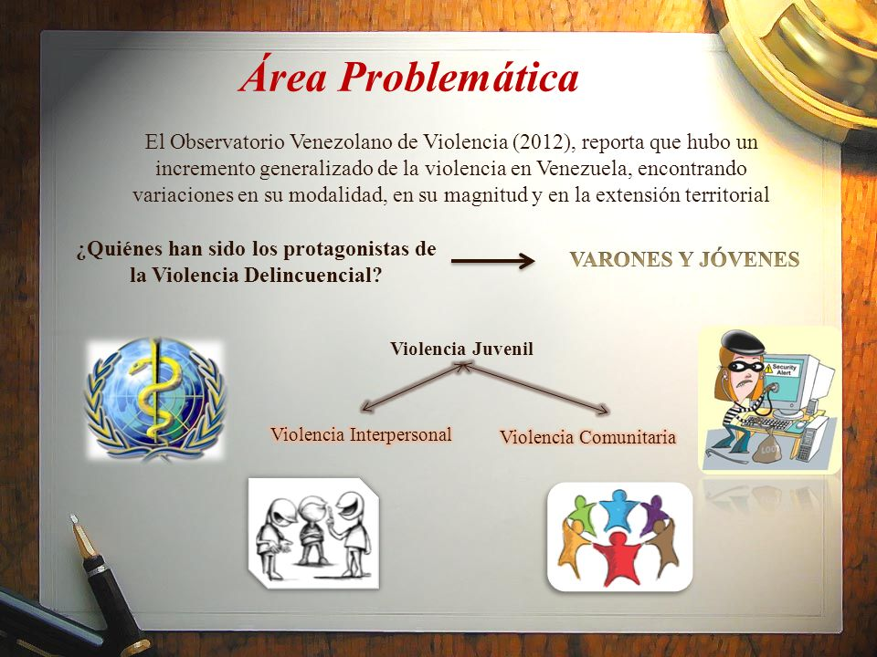 El Observatorio Venezolano de Violencia (2012), reporta que hubo un incremento generalizado de la violencia en Venezuela, encontrando variaciones en s