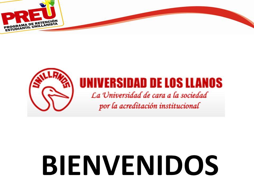 UNIVERSIDAD DE LOS LLANOS JORNADA DE PRIMER ENCUENTRO CON LA U 2013-I CORREO ELECTRONICO: proyectodesercion@unillanos.edu.coproyectodesercion@unillanos.edu.co TEL.