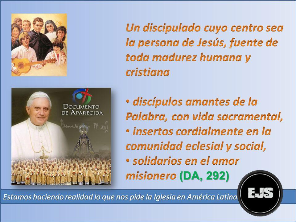 Con orgullo podemos afirmar que la Espiritualidad Juvenil Salesiana Un proyecto original de vida Cristiana es: