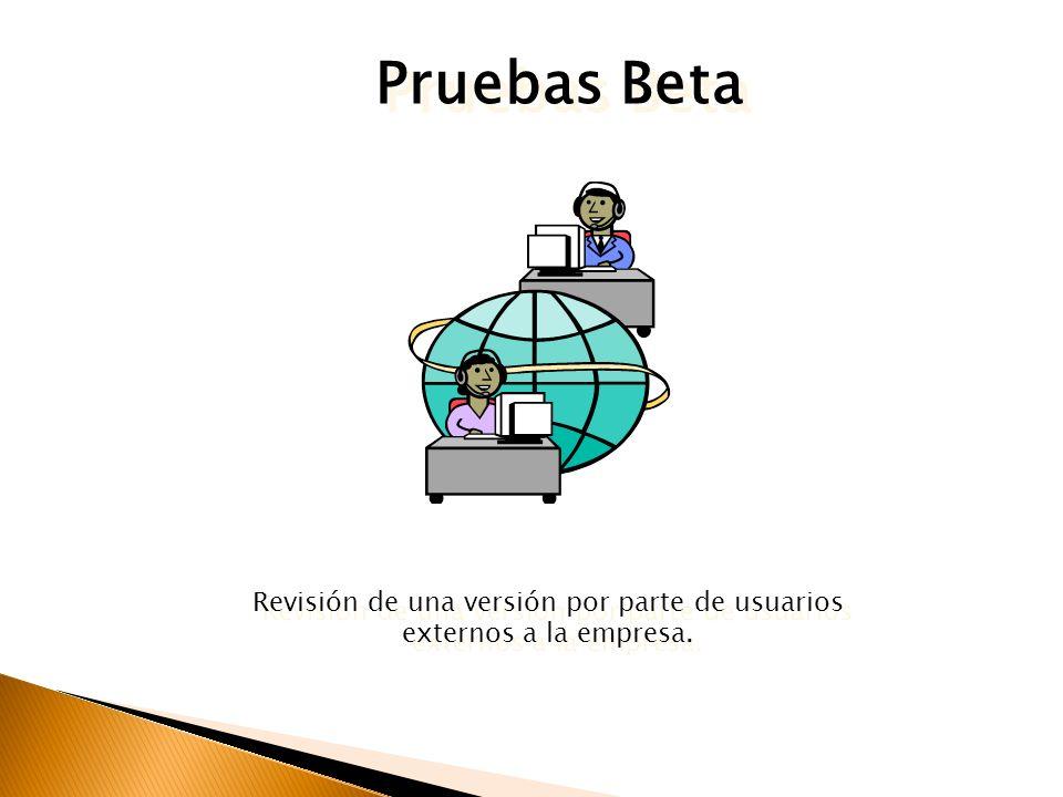PROCESO Análisis Construcción Control de calidad Paso a producción FASES Beta Testing: Prueba Beta Debugging: Corrección de errores de programación Qu