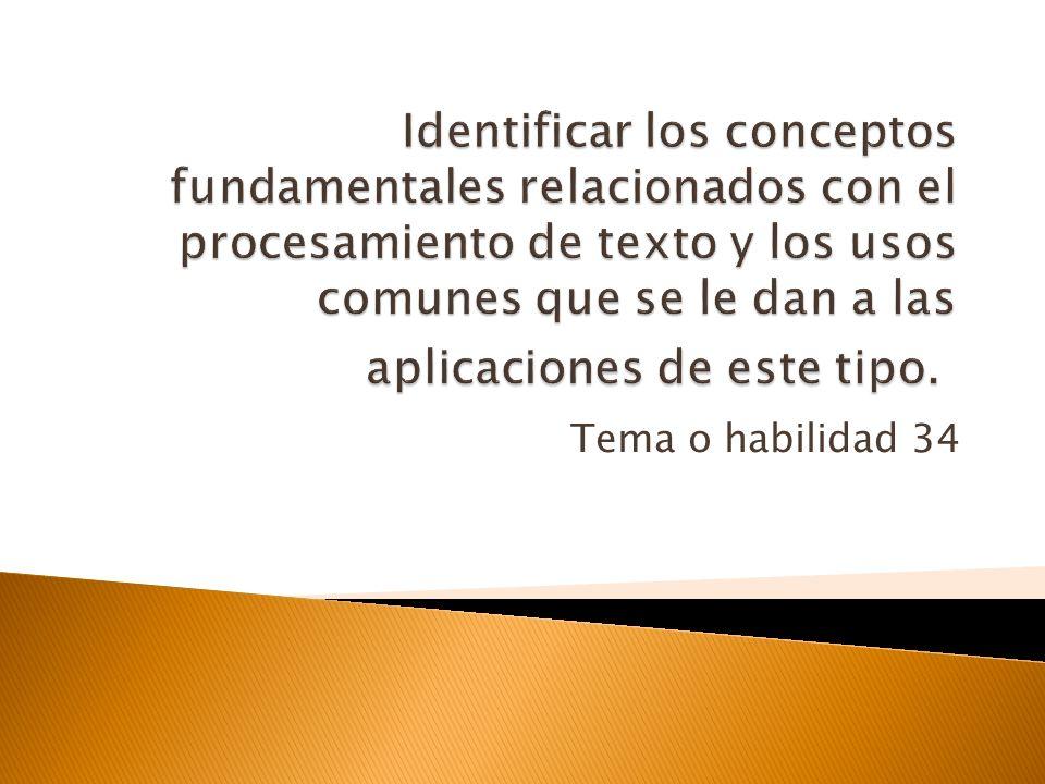 OBJETIVO 2 Identificar los tipos diferentes de software, los conceptos generales relacionados con las categorías de software y las tareas para las que