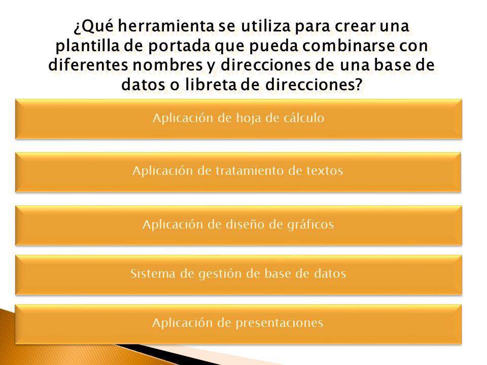 Indique la aplicación que corresponda al tipo de documento: a)Procesador de Textos b)Presentaciones (Maquetación) Indique la aplicación que correspond