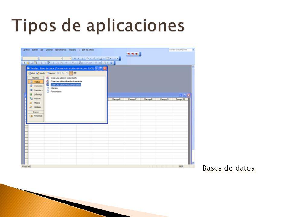 Crear tablas de datos indexadas. Modificar tablas de datos. Relaciones entre tablas (creación de bases de datos relacionales). Creación de consultas y