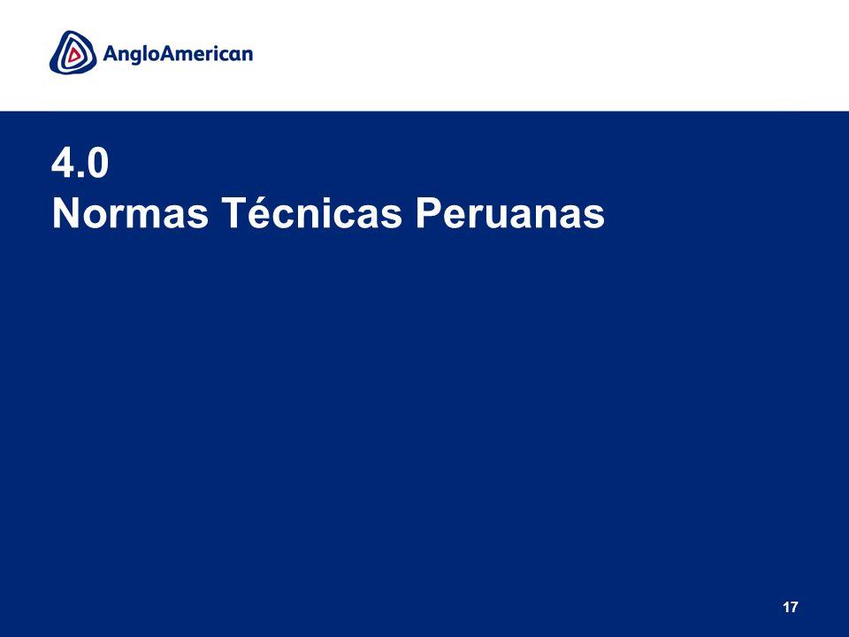 17 4.0 Normas Técnicas Peruanas